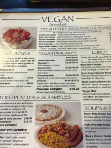 texas seven mile menu